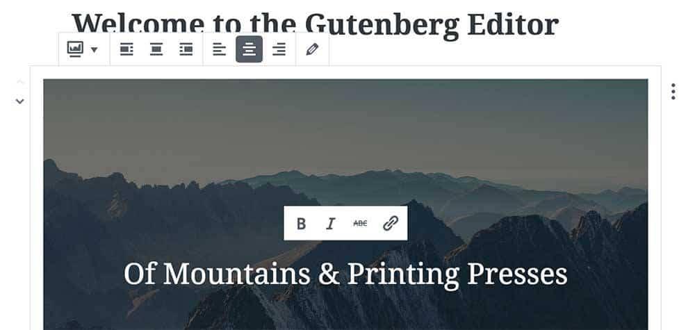 Gutenberg – nytt gränssnitt i WordPress