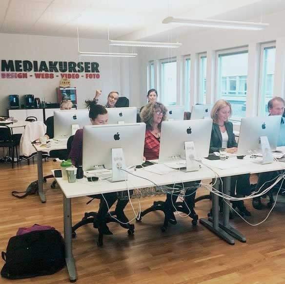 mediakurser klassrum