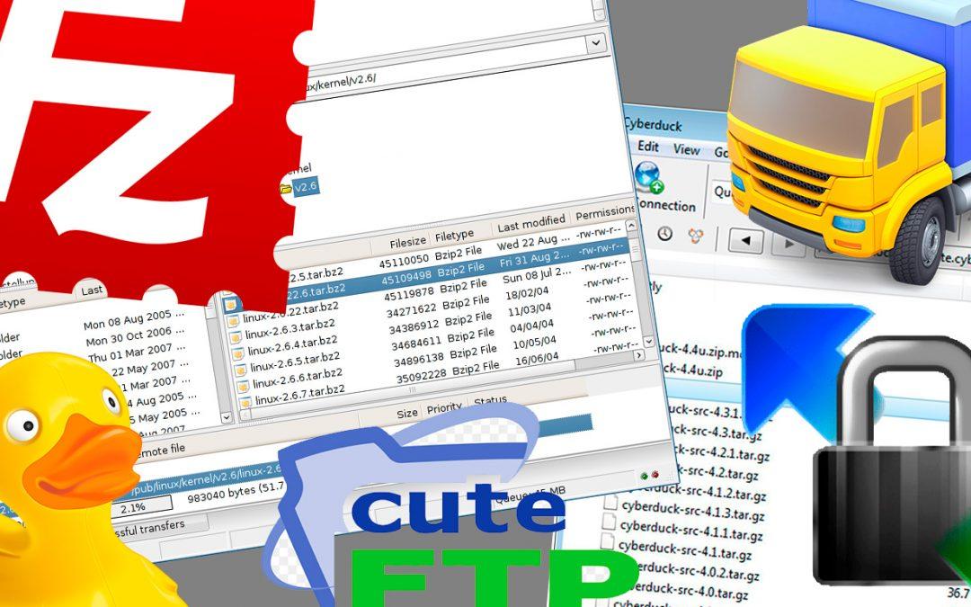Fem FTP-program för WordPress-användare