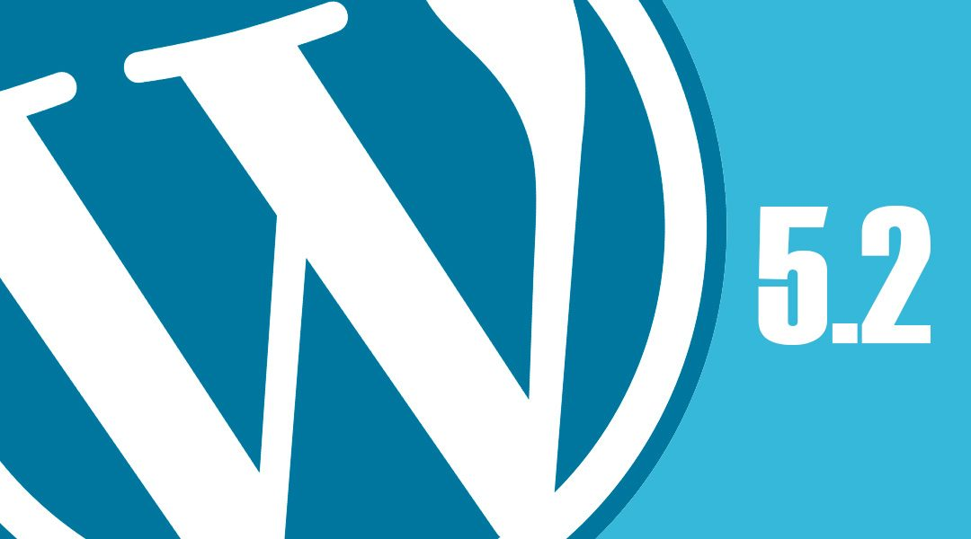 WordPress 5.2 Jaco – nyheter