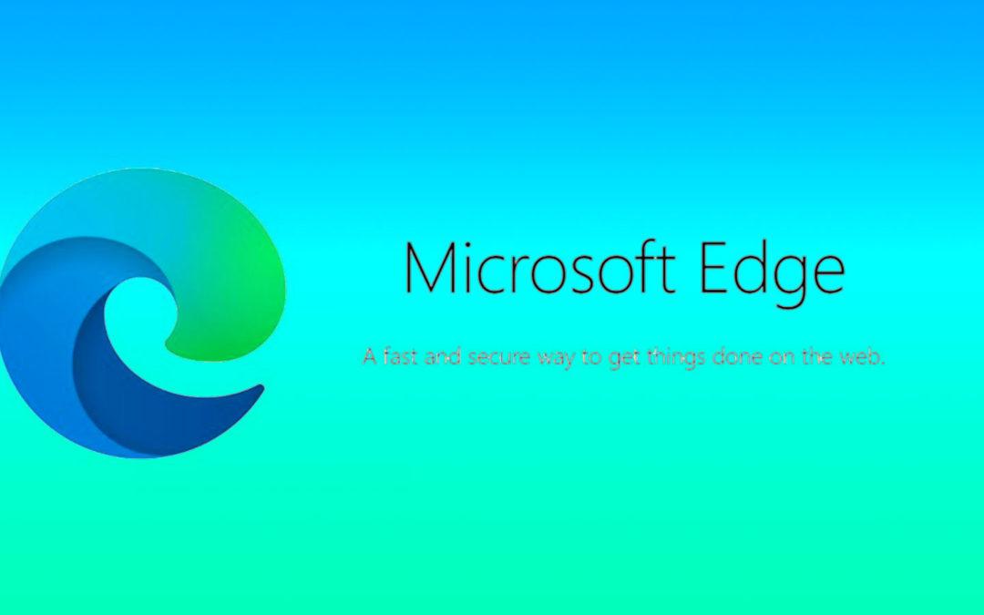 Edge – Säg hej till en ny webbläsare