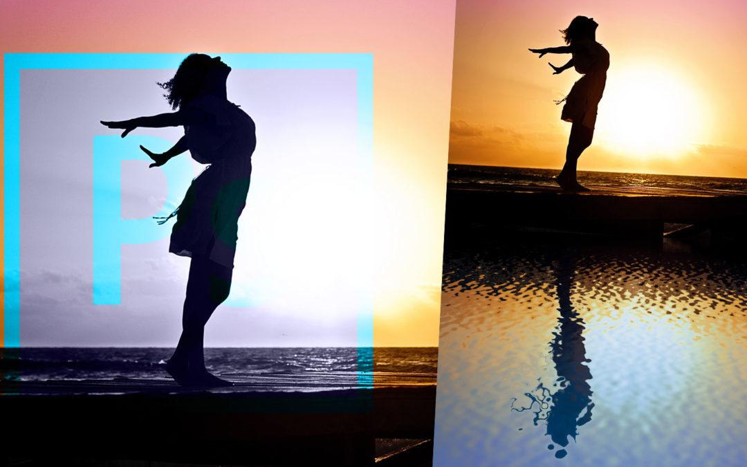 Speglingseffekt i vatten med Photoshop